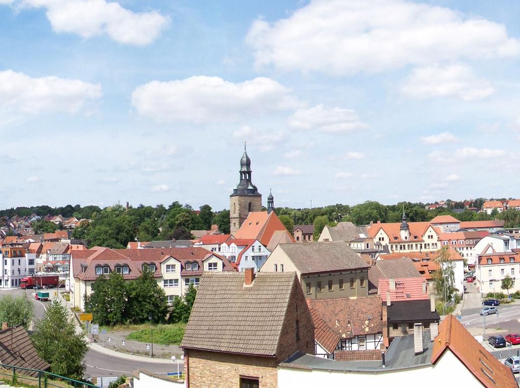 Stadtansicht Hettstedt