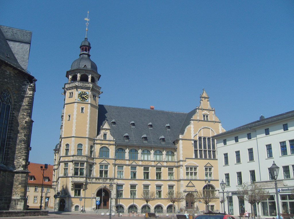 Viertes Rathaus von 1900